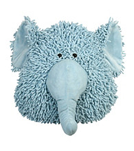 Stephan Baby NUBS Elephant Pillow - Blue