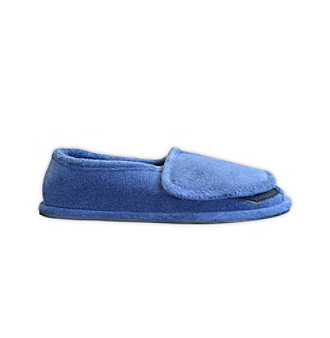 MUK LUKS® ComfortFit Men's Terry Adjustable Open-Toe Full-Foot Slipper