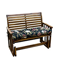 Greendale Home Fashions Outdoor Swing or Bench Cushion - Midnight Floral