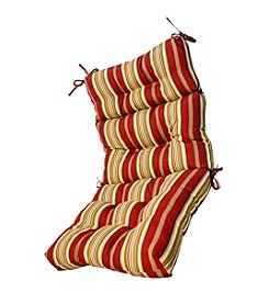 Greendale Home Fashions Outdoor High Back Chair Cushion - Roma Stripe