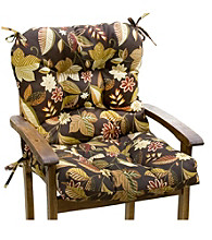 Greendale Home Fashions Outdoor Seat or Back Chair Cushion - Timberland Floral
