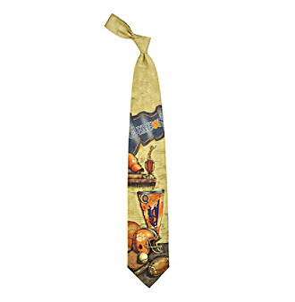 NCAA® University of Clemson Men's Necktie - Nostalgia