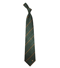 NCAA® University of Miami Men's Necktie - Oxford Woven