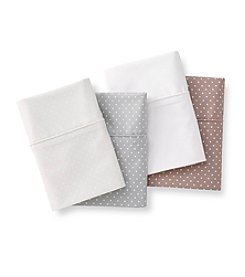 Charisma® Lexington Dot 400-Thread Count Cotton Twill Sheets