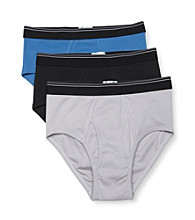John Bartlett Statements Men's 3-Pack Briefs - Assorted