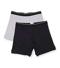 John Bartlett Statements Men's 2-Pack Boxer Briefs - Assorted
