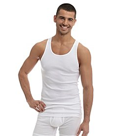 John Bartlett Statements Men's 3-Pack Tank Tops - White