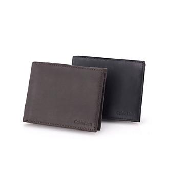 Calvin Klein Men's Leather Bifold