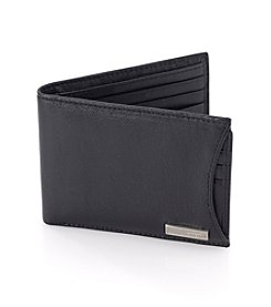 Calvin Klein Men's Black Leather Passcase