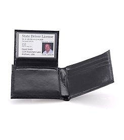 Calvin Klein Men's Black Passcase Wallet
