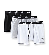 PUMA® Men's 3-Pack Boxer Briefs - Assorted