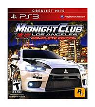 PlayStation® 3 Midnight Club: Los Angeles - Complete Edition