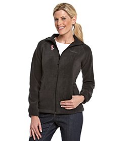 Columbia Coalition Against Breast Cancer Zip-front Fleece Jacket - Black