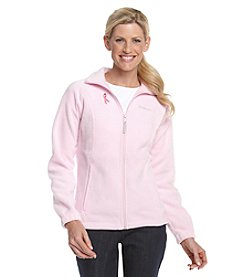 Columbia Coalition Against Breast Cancer Zip-front Fleece Jacket - Isla Pink