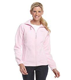 Columbia Coalition Against Breast Cancer Zip-front Fleece Jacket - Isla Pink