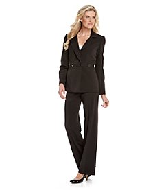 Calvin Klein 2-pc. Polished Pant Suit Set - Black