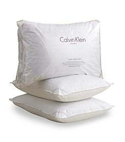 Calvin Klein 230-Thread Count Cotton Twin Pack Pillows