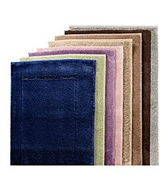 LivingQuarters Perfect Performance Micro Polyester Bath Rugs