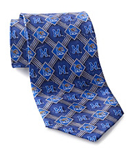NCAA® University of Memphis Men's Necktie - Pattern