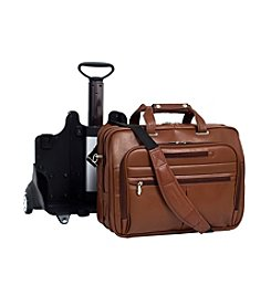 McKlein OHare Leather Fly-Through™ Checkpoint-Friendly 17