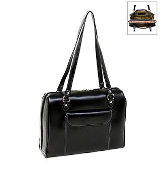 """McKlein Glenview Women's Leather 15.4"""" Laptop Briefcase"""