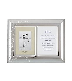 kate spade new york® Gardner Street Double Invitation Picture Frame