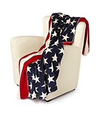 Denali® Oversized Stars & Stripes Microplush Throw