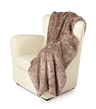 Denali® Oversized Stone Tapestry Microplush Throw