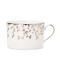 Kate Spade New York® Gardner Street Platinum Teacup