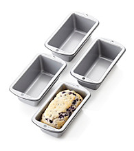 LivingQuarters 4-Piece Mini Loaf Pan Set