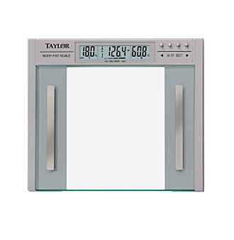 Taylor® Glass Body Fat Scale