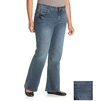 Ruff Hewn Plus Size Classic Bootcut Jeans Women's