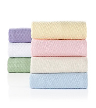 Elite Home Products Sea Breeze Cotton Blankets