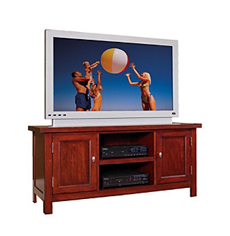 Home Styles® Cambridge Entertainment Stand - Cherry