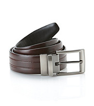 John Bartlett Statements Men's Reversible Belt - Black/Brown