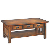 Hammary® Canyon Rectangular Cocktail Table