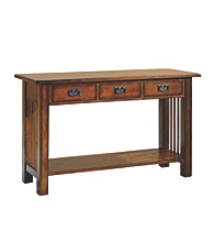 Hammary® Canyon Sofa Table