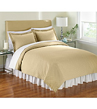Matelasse Cream Coverlet Bedding Collection by Charisma®