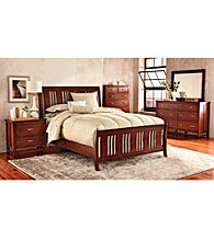 Cresent® Craftsman Cherry Bedroom Collection