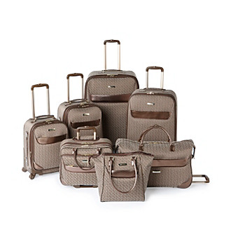 Anne Klein Signature Jacquard Luggage Collection