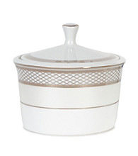 Lauren Ralph Lauren Silk Ribbon Pearl Covered Sugar Bowl