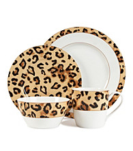 Lauren Ralph Lauren Safari Leopard 4-pc. Place Setting