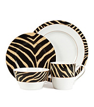 Lauren Ralph Lauren Safari Zebra 4-pc. Place Setting