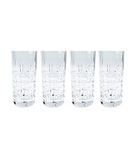 Lauren Ralph Lauren Cocktail Party Set of 4 Highball Glasses