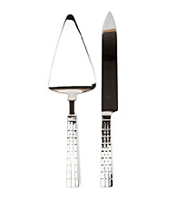 Lauren Ralph Lauren Watchband Cake Knife & Server Set