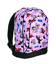 Wildkin English Riding Sidekick Backpack - Purple