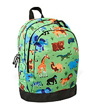Wildkin Olive Kids Wild Animals Sidekick Backpack - Green