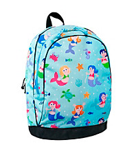 Wildkin Olive Kids Mermaids Sidekick Backpack - Blue