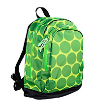 Wildkin Big Dots Sidekick Backpack - Green/Yellow