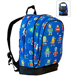 Olive Kids Robots Sidekick Backpack - Blue
